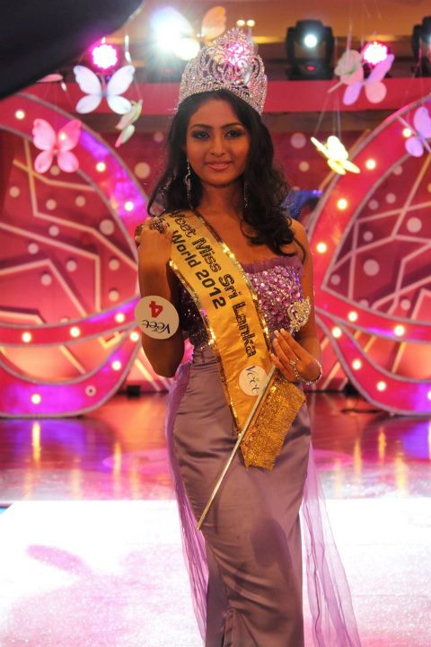 Derana Veet Miss Sri Lanka 2012,Miss World Srilanka 2012