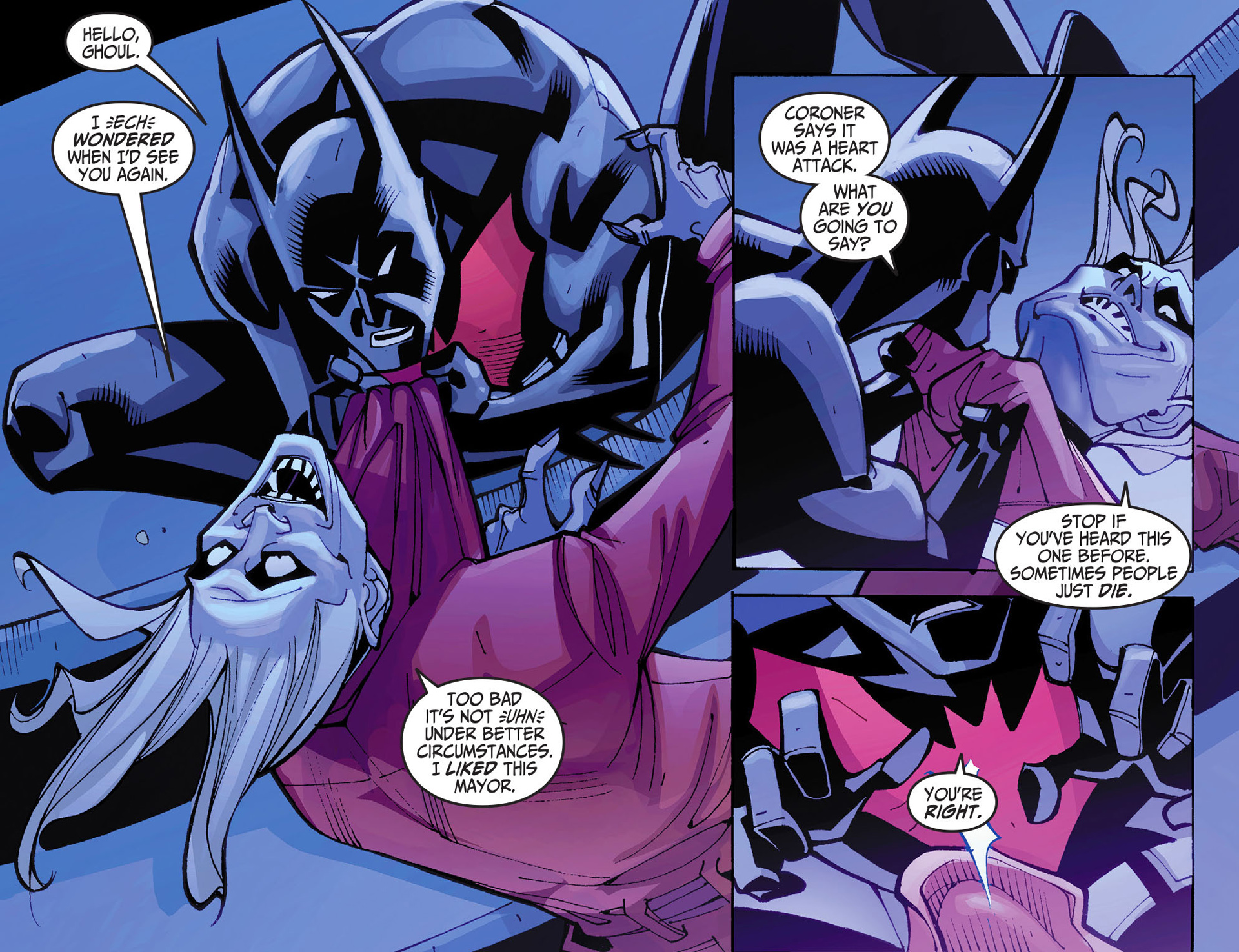 Batman Beyond 2.0 Issue #2 #2 - English 10