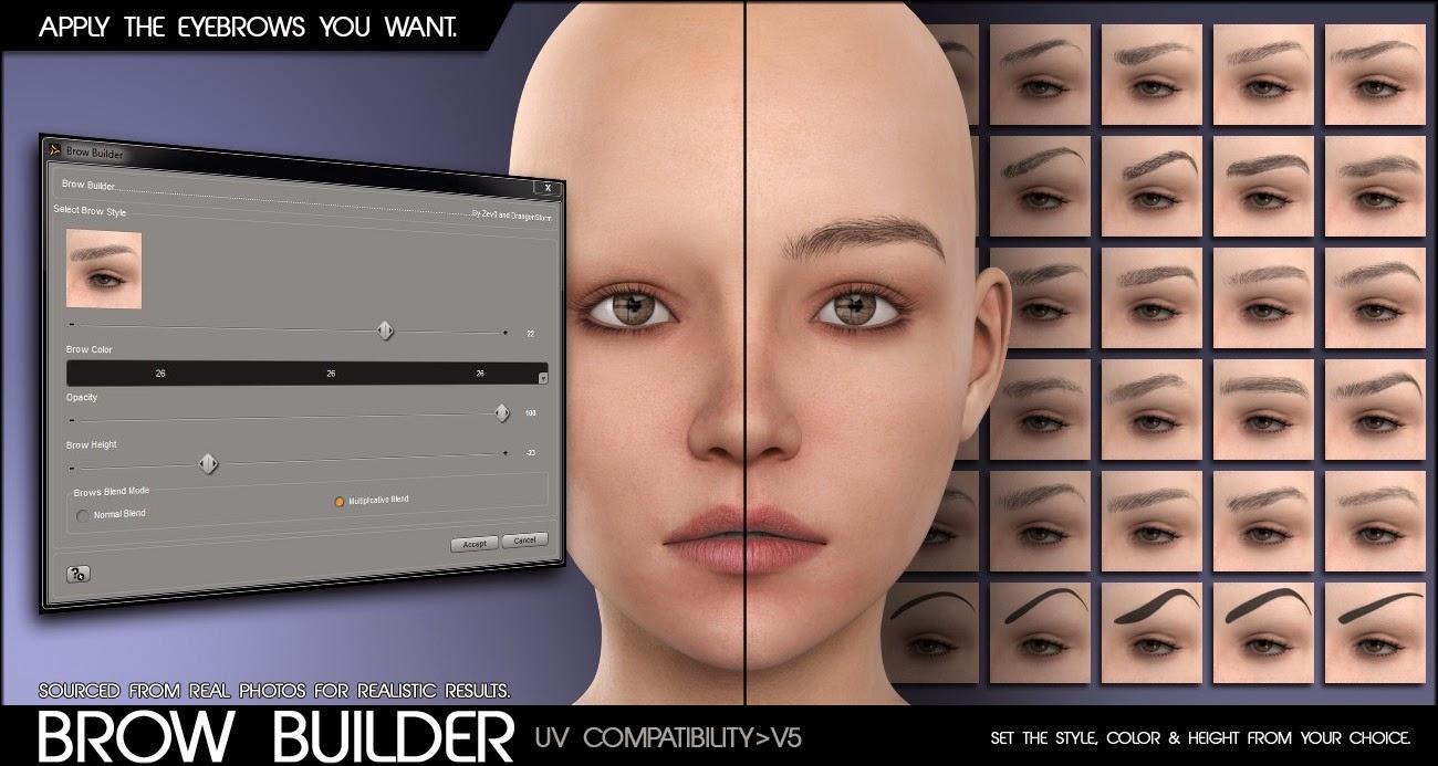 Constructeur de la peau Pro pour Genesis et Genesis 2 Femme