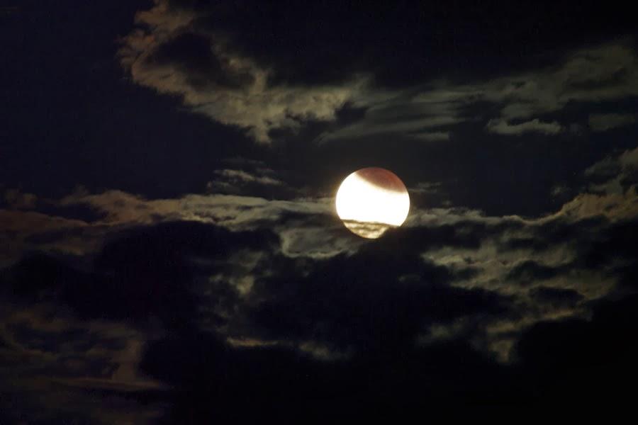 Córrego verá eclipse lunar