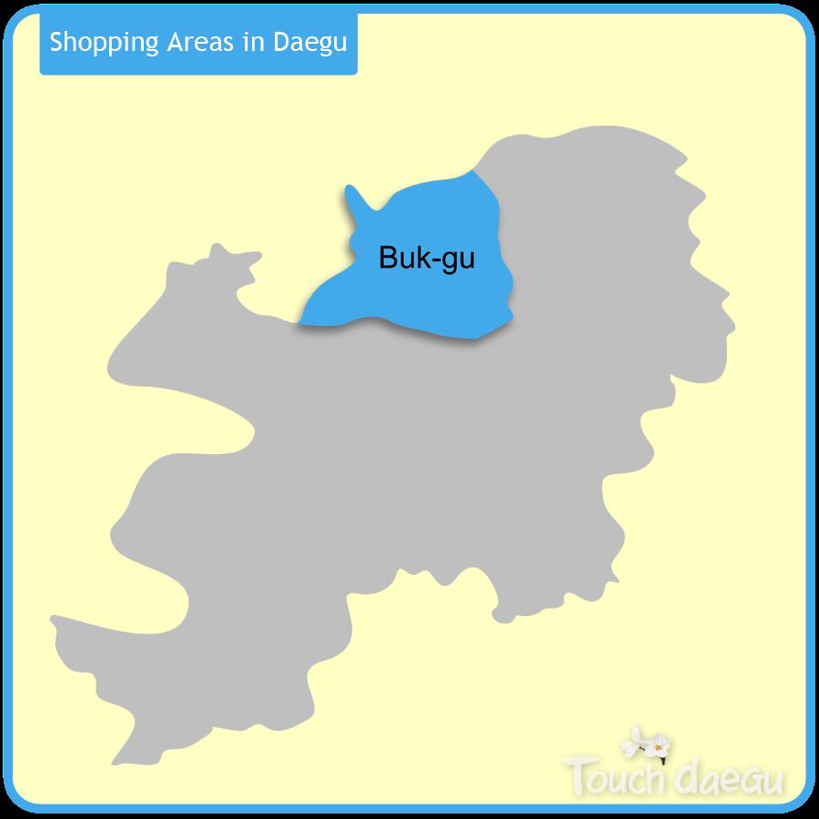 Shopping Areas in Daegu-Buk-gu