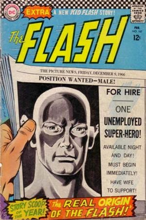 The Flash #167 comic cover