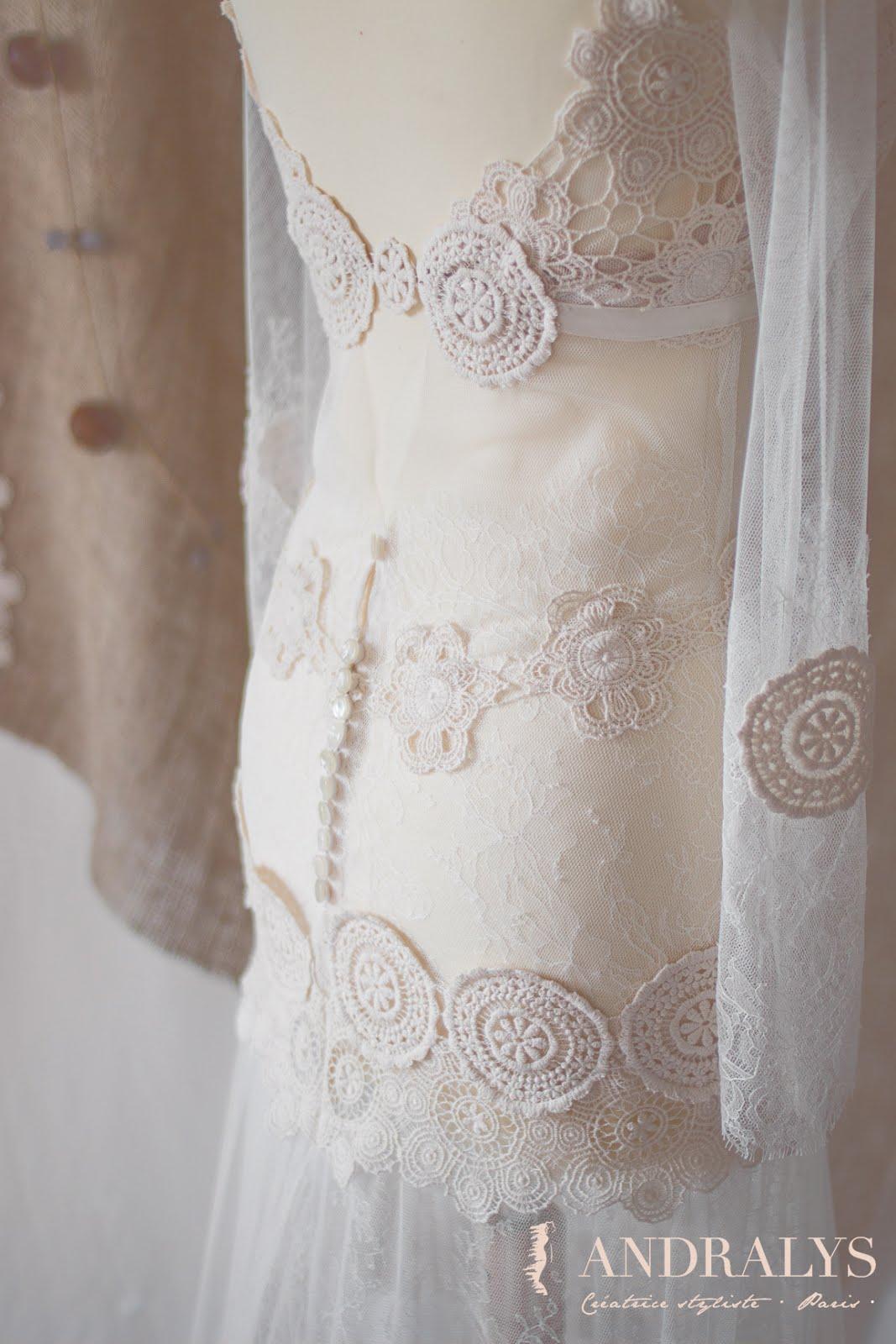 Robe de mariée bohème Janis
