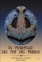 """Portada del libro """"El martillo del fin del mundo"""", de José Miguel Cuesta y José Rubio"""