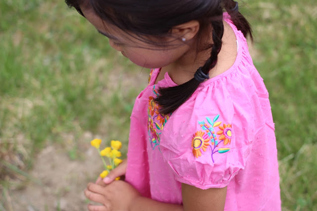 Siaomimi| Embroidered Dress | Chichi Mary An Online Kid's Boutique