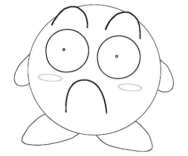 #11 Kirby Coloring Page