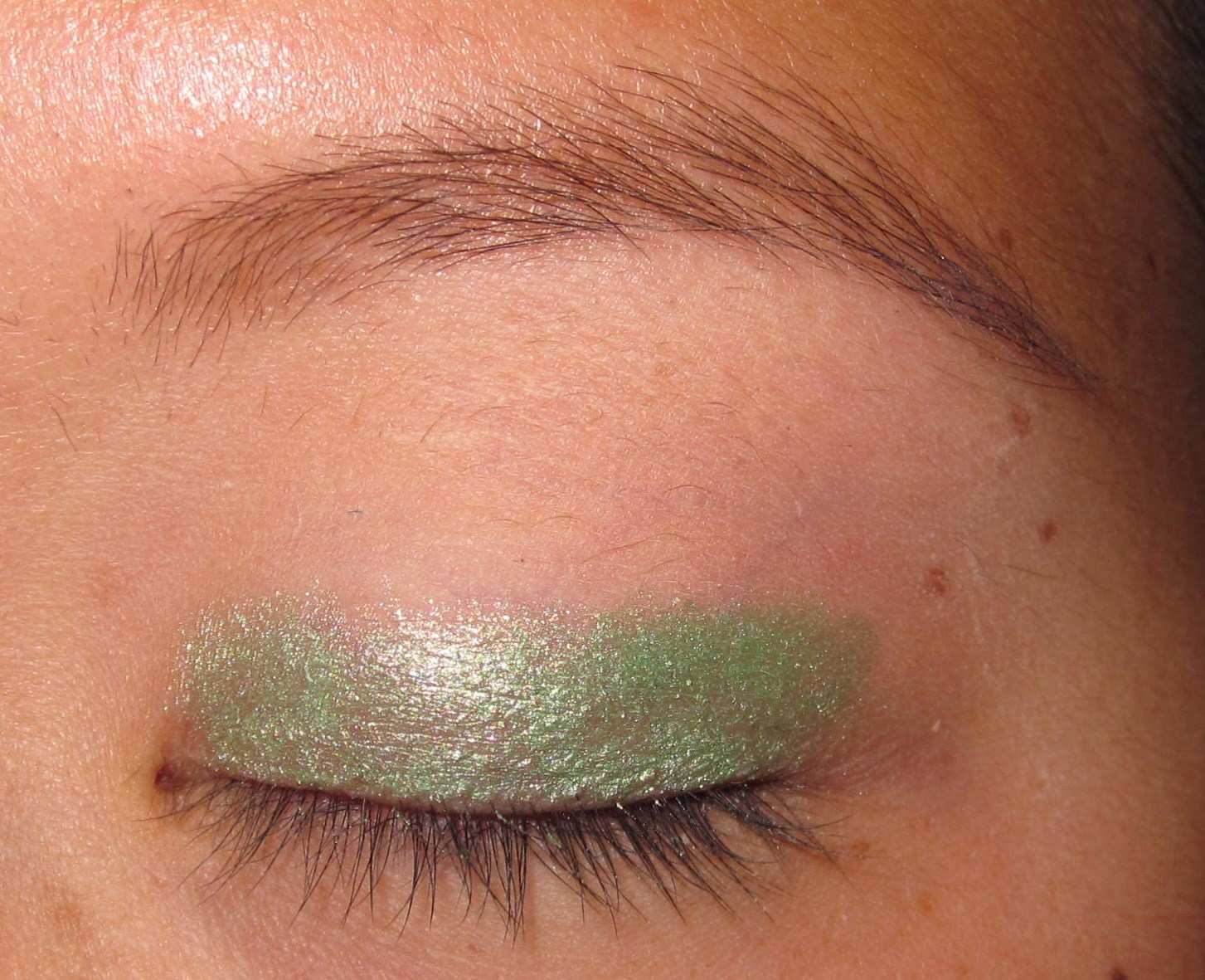 Makeup Story Green Silver Prom Makeup Pic Tutorial