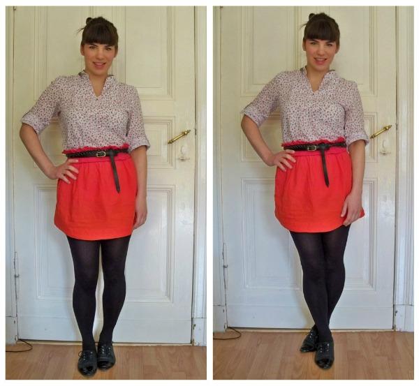 30 Kleidungsstücke für 30 Tage ergeben 30 verschiedene Outfits Tag 21