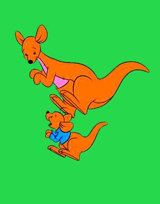 Walt Disney Roo from Winnie the Pooh
