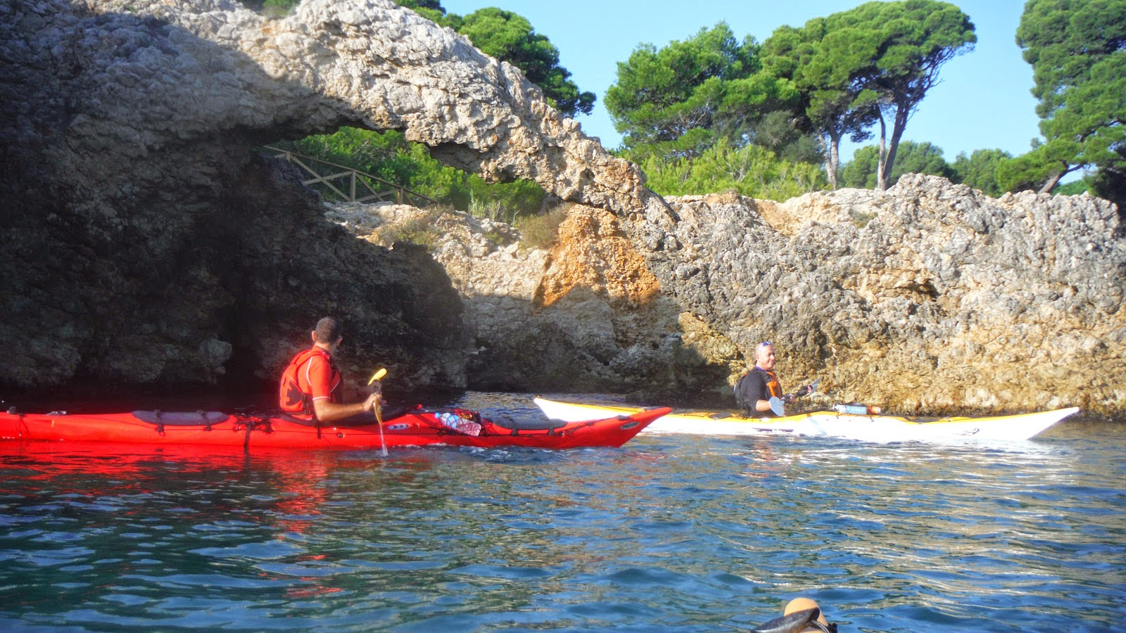 Kayak de mar a la Costa Brava -Empuries