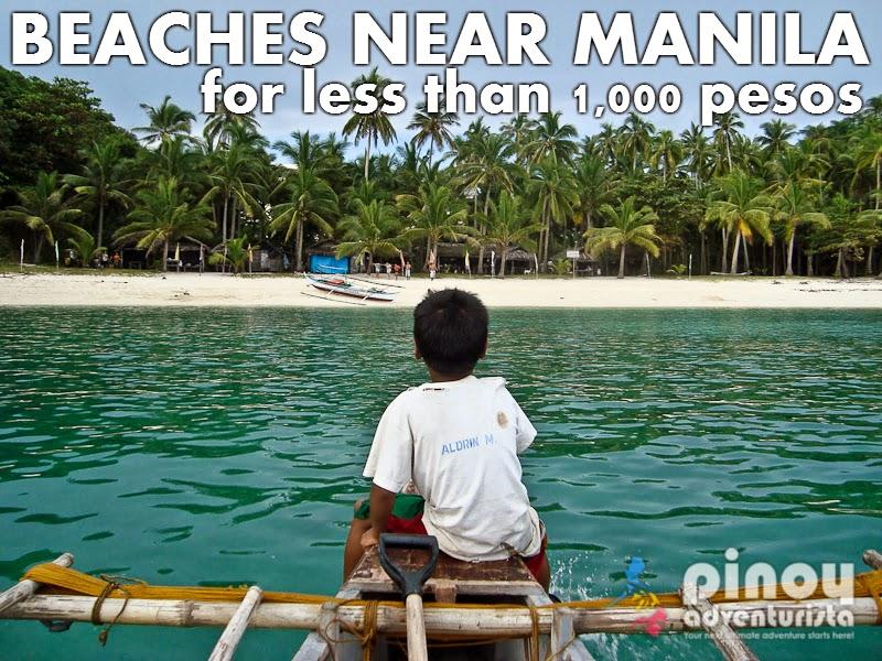 7 Nice Beaches Near Manila For Less Than 1 000 Pesos