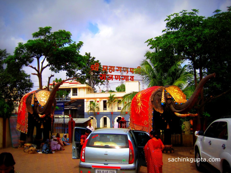 Ganesh Utsav Mahaganpati Ranjangaon Ashtavinayak Eight Ganesha Temples Mumbai Image for free download