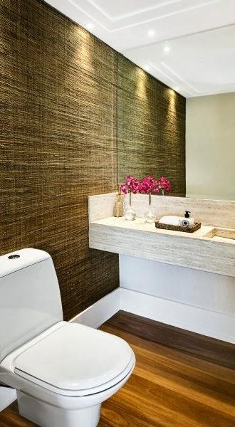 Meu Mini Apê Inspiração decoração para banheiros pequenos -> Decoracao Meu Banheiro