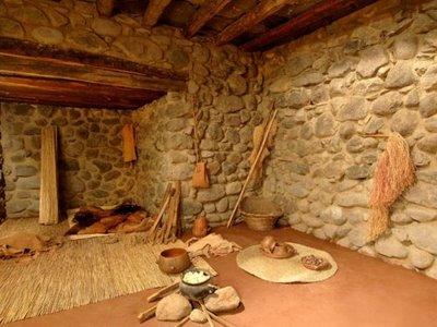 Abor genes canarios y final de su civilizaci n el h bitat - Casas de madera gran canaria ...