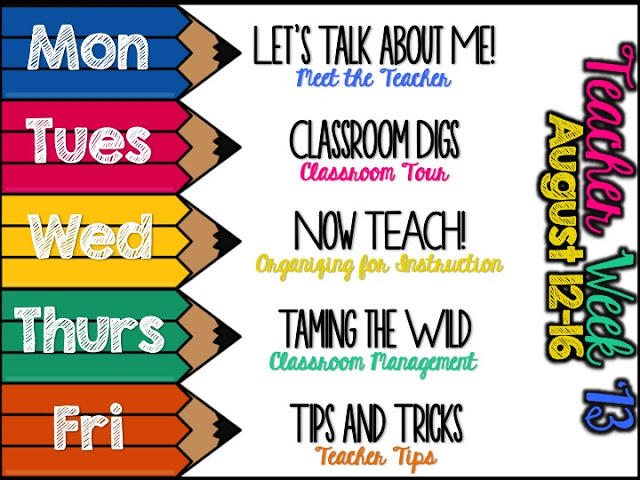 Classroom Cleaners Design ~ Hoppin teacher week tricks and tips