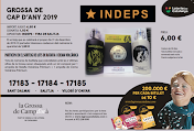 Loteria de Cap d'Any 2019 Núm. 17183 17184 17185