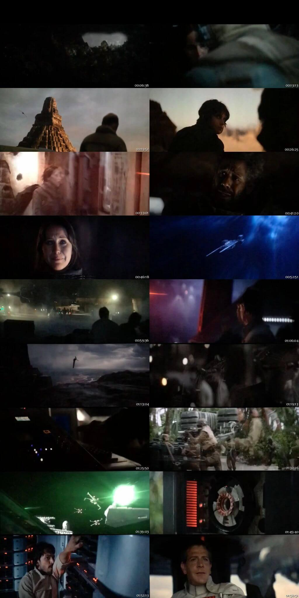Screenshot Of Watch Online Rogue One A Star Wars Story (2016) Full Movie Download Free HDCam HQ