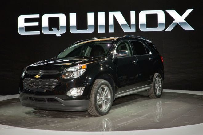 Updated 2016 Chevrolet Equinox Revealed