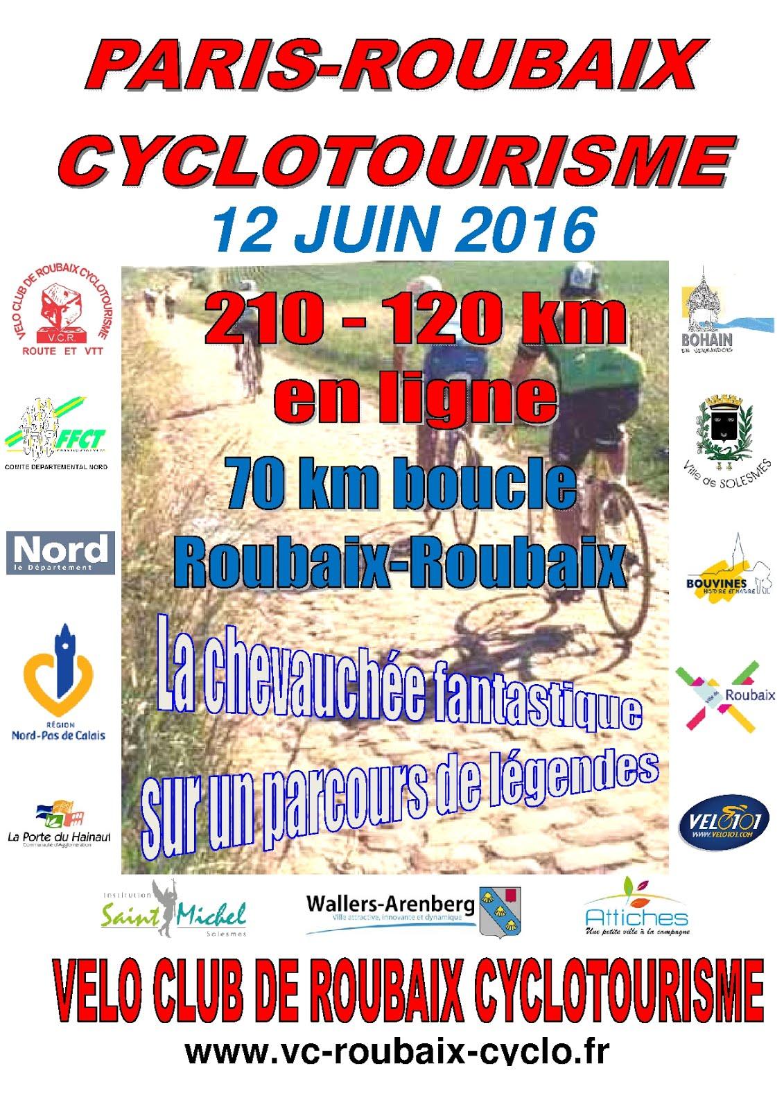Paris-Roubaix  Cyclotourisme