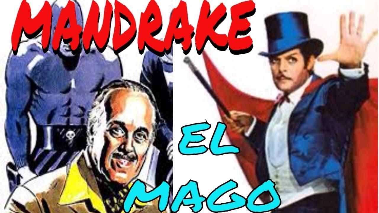 Mandrake el Mago por Mapanare: Enlace a las entradas informativas