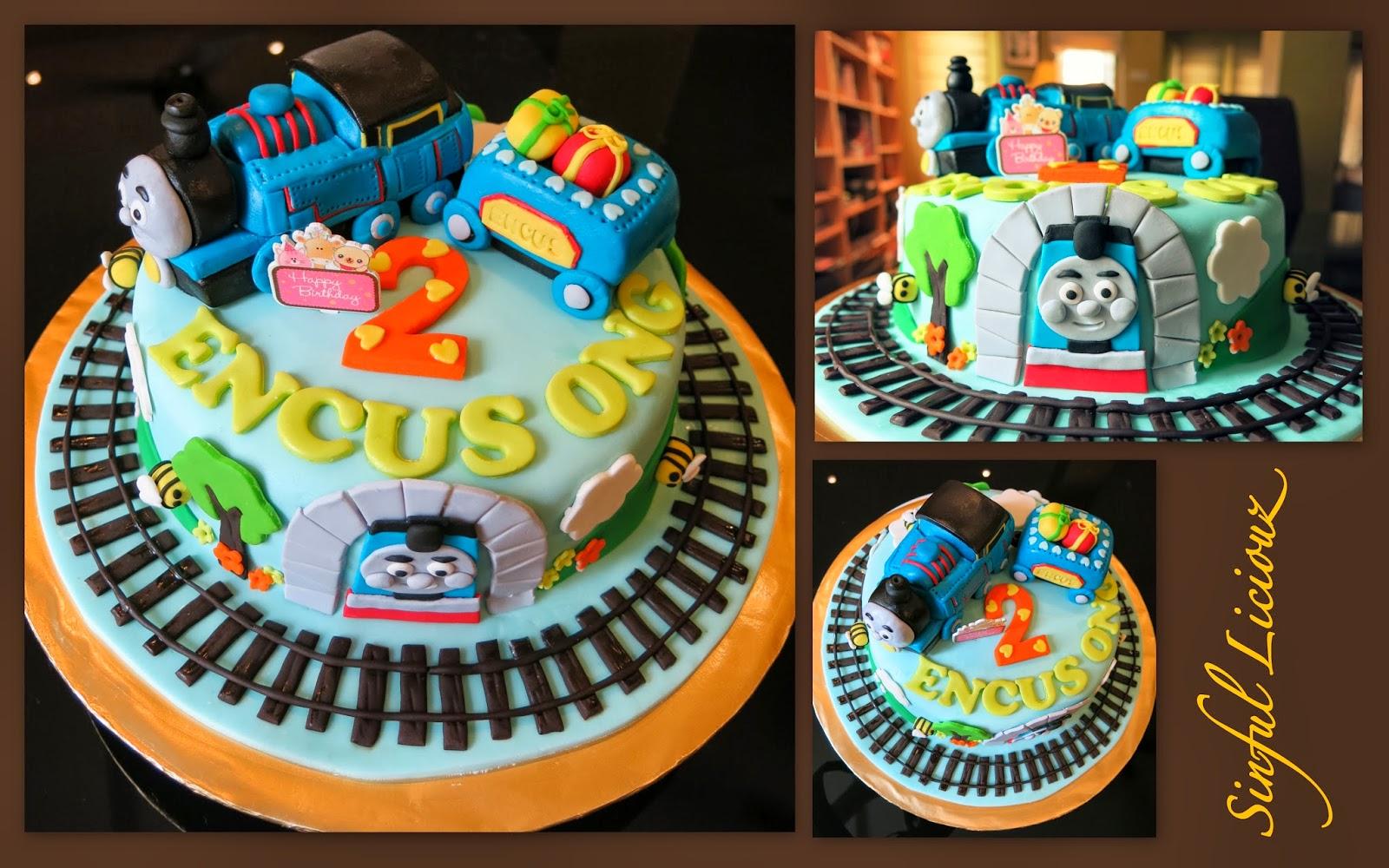 Sinful Liciouz Thomas Friends Theme Cake