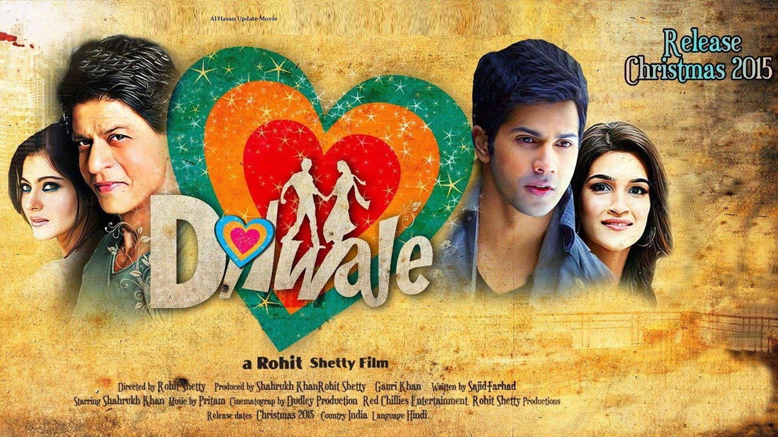 dilwale full movie song mp4