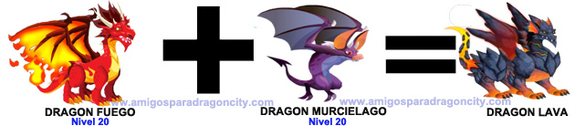 como sacar el dragon lava en dragon city-1