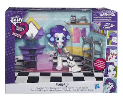 TOYS : JUGUETES - My Little Pony | Mi pequeño poni  Equestria Girls : Minis  Set de belleza para fiesta de pijamas  Slumber Party Beauty Set  Muñeca - Figura 2016 | Hasbro B6039 | A partir de 5 años  Comprar en Amazon España & buy Amazon USA