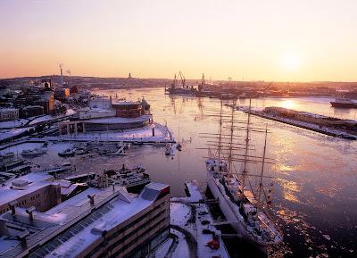 Viaggio a Goteborg in inverno