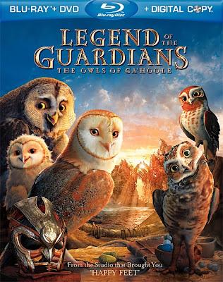 Legend of the Guardians The Owls of Ga'Hoole (2010) 720p BRRip 1GB mkv Latino
