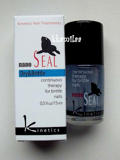 Kinetics Nano Seal Nail Treatment