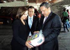 Visita del Embajador de Guatemala gira visita al administrador del Plan Social de la Presidencia