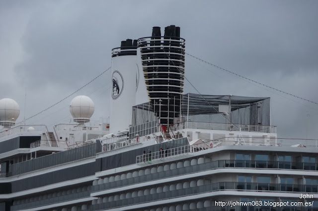 eurodam, puerto de Vigo