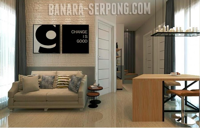 Banara Serpong - Living Room