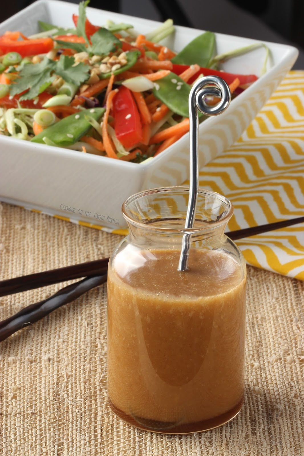 Asian ginger soy vinaigrette recipe