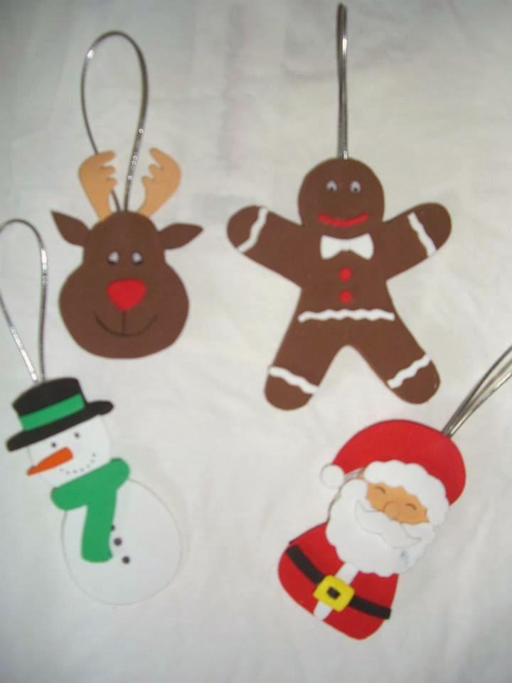 Caprichos hechos a mano lote adornos de navidad Adornos de navidad hechos a mano
