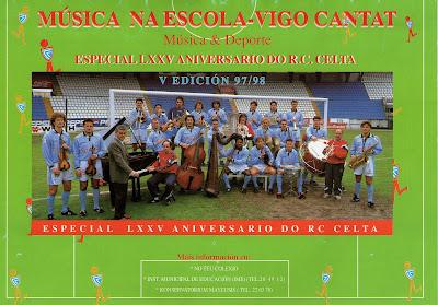 Especial 75º aniversario del Celta de Vigo 1998