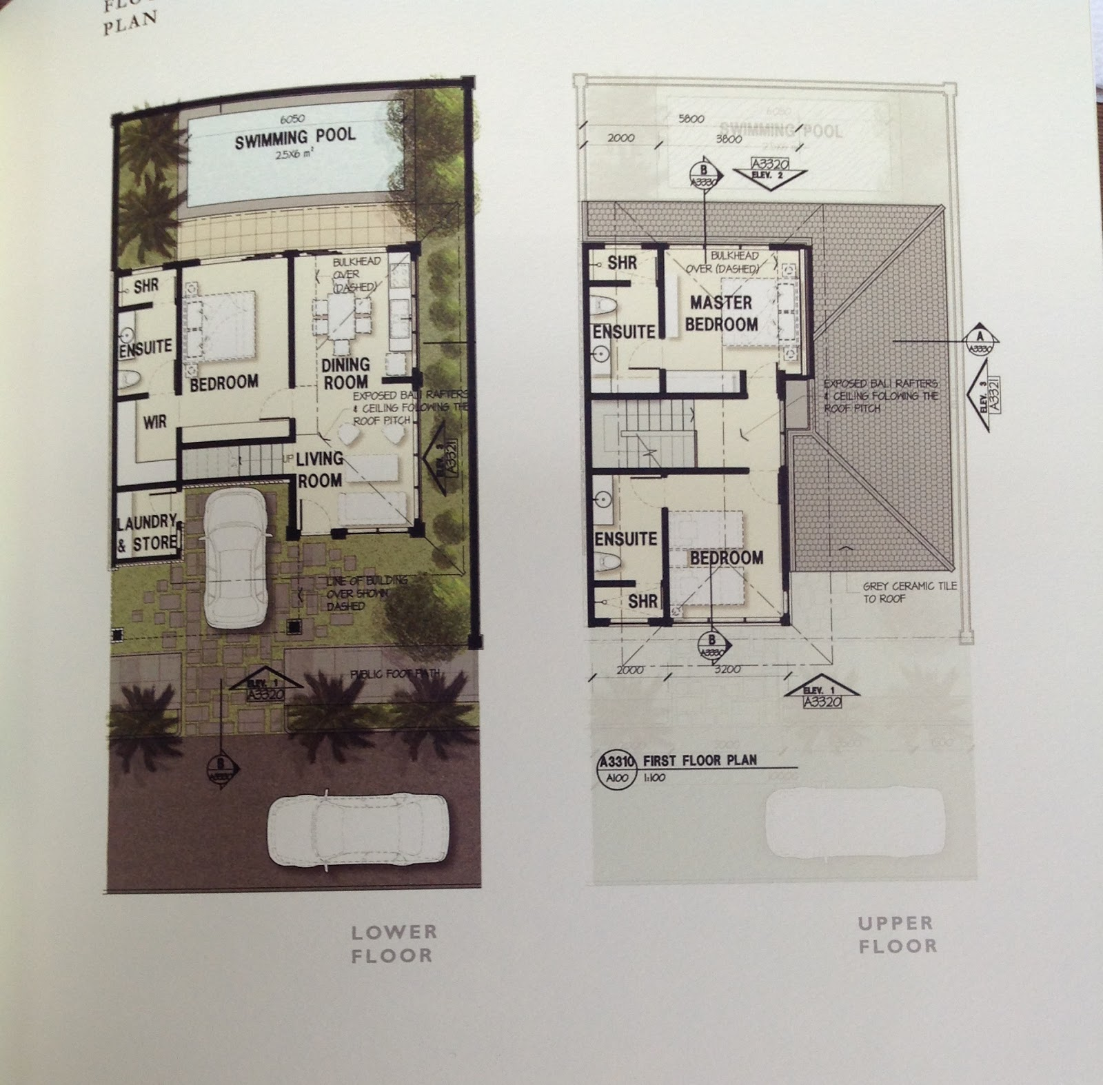 Springhill Cluster House Floor Plan Home Design And Style