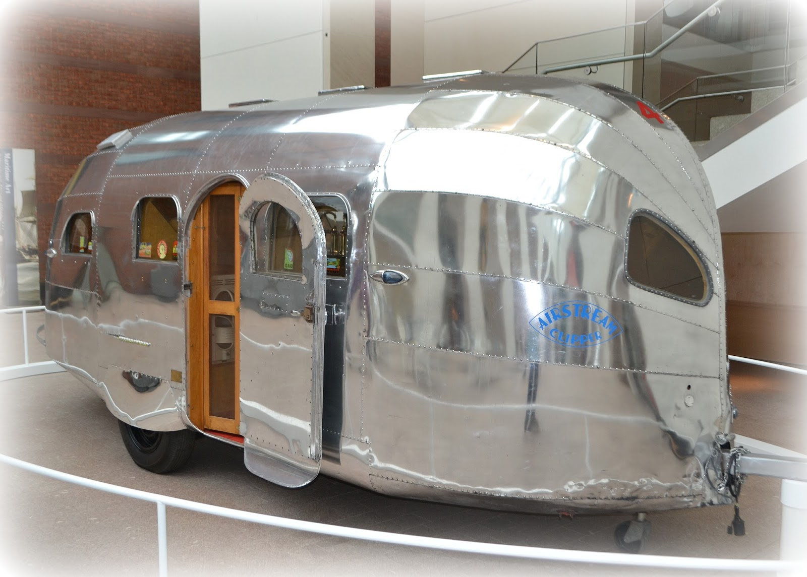 airstream, camper, travel, peabody essex, museum, salem, massachusetts