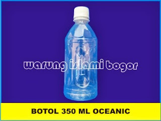 Botol PET Syrup 350 ml Natural