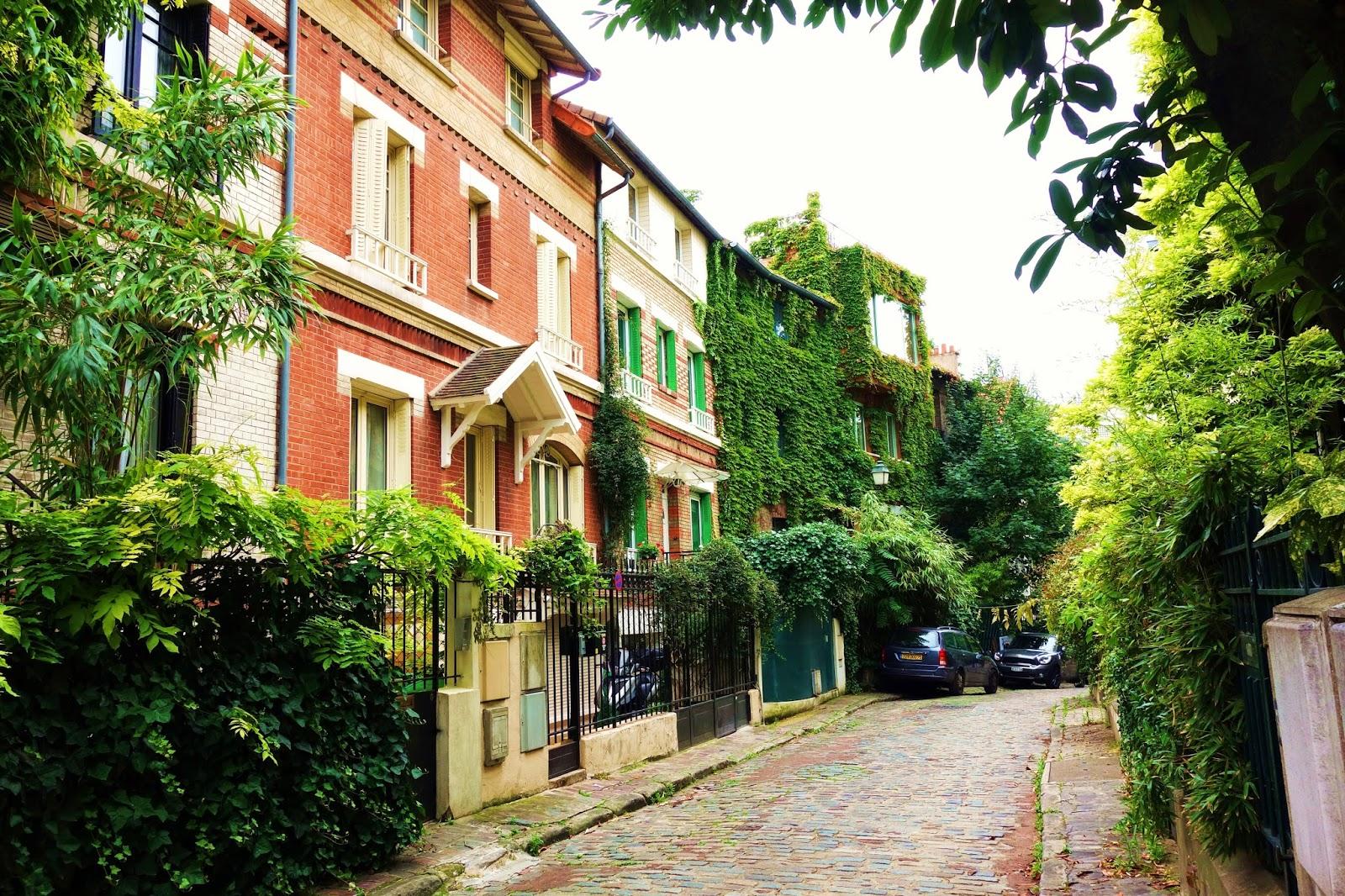 Paris square montsouris l 39 insolite verdoyante all e - Maison des truffes paris ...