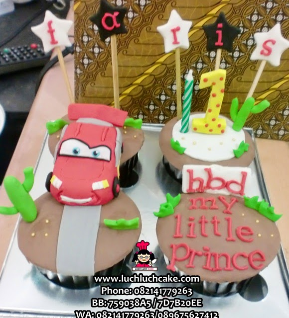 Cupcake Cars Mc Queen Daerah Surabaya - Sidoarjo