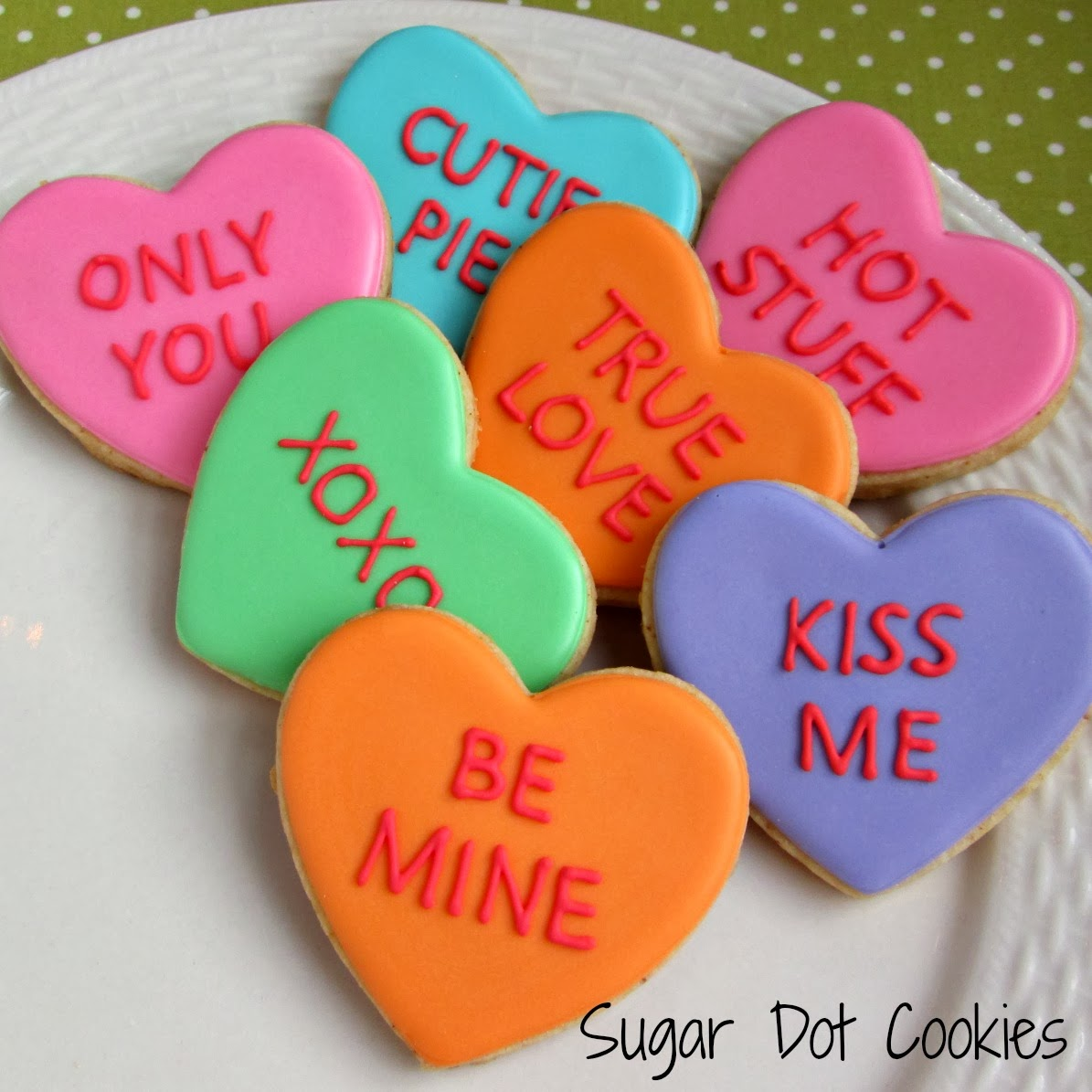 sugar dot cookies: valentine's day cookies, Ideas