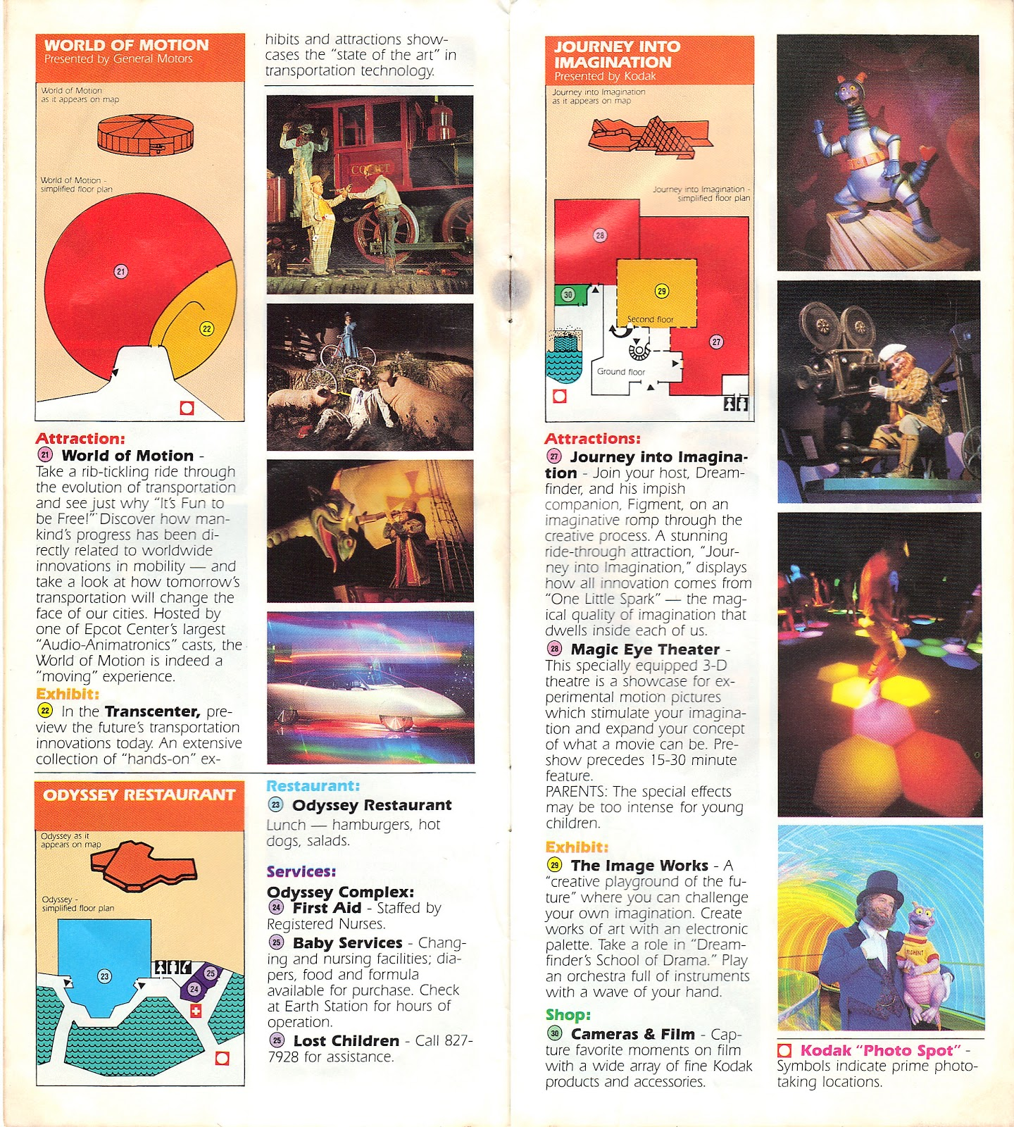 Epcot Center Guide Book 1986   A Disney Mom\'s Thoughts