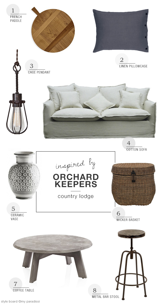 Orchard Keepers country guest house shopping inspiration