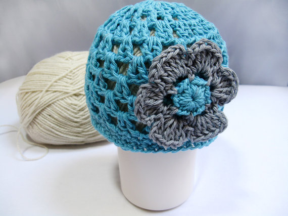 Free Crochet Flower Patterns For Baby Hats : Lana creations My knitting work, knit project and free ...