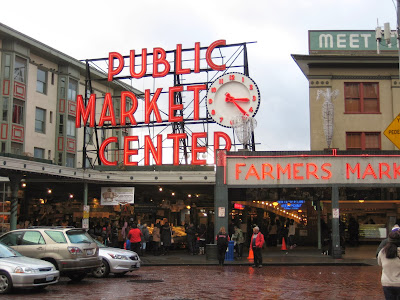 Pike Place Market in Seattle, WA