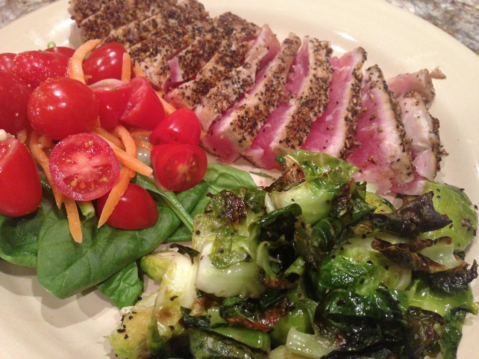 The Barnyard Bistro: Seared Ahi Tuna