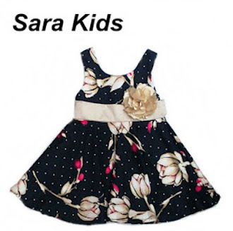 Clearance Stock : RM35 - Dress Sara Kids