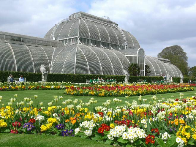 Holiday in england kew gardens london video for Jardin botanico de kew